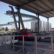 Stabilimento della Cantina Cooperativa della Riforma Fondiaria di Ruvo di Puglia
