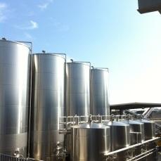 Serbatoi per la fermentazione e stoccaggio dei vini